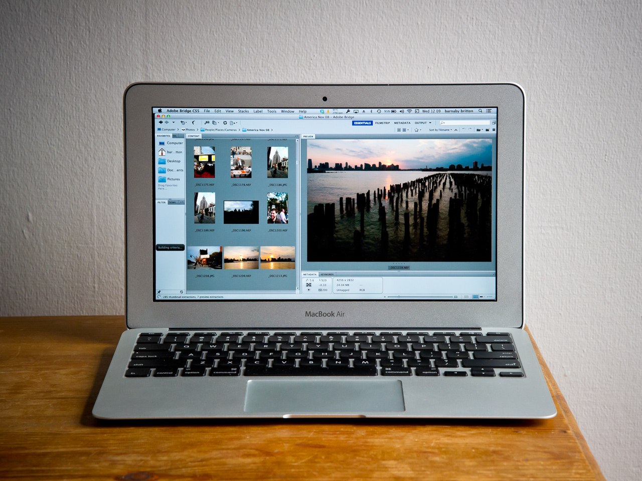 laptop for travel photographers